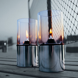 Stelton - Oil Lamp with Clear Glass Shade 1005