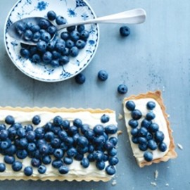 Donna Hay - Blueberry and Lemon Mascarpone Tart