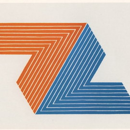 Frank Stella - Itata offset lithograph (after the original)