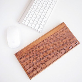Life - For Apple Keyboard 木製デザインケース