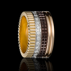 BOUCHERON - Quatre diamond paved ring large