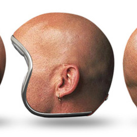 Igor Mitin - Helmets experiments Head collection