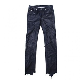 TAKAHIROMIYASHITA The SoloIst - rough out jean. -navy.-