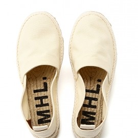 MARGARET HOWELL - CANVAS ESPADRILLES