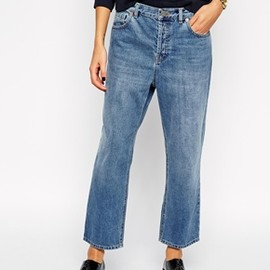 asos - Parallel Jeans in Mid Vintage Wash