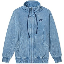 Nike - Nike Re-Issue Knit Wash Jacket Stone Blue & Navy | END.