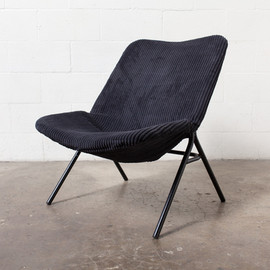 AMSTERDAM MODERN - RARE EARLY MODEL PIERRE GUARICHE (attr) LOUNGE CHAIR