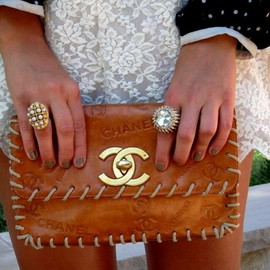 CHANEL - leather