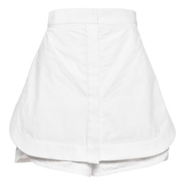 ALEXANDER WANG - SS2015 Chalk Running Short With Shirttail Front