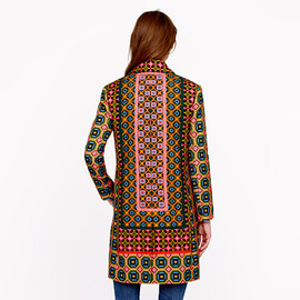 J.CREW - Collection Ratti tile coat