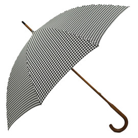 LONDON UNDERCOVER - HOUNDSTOOTH SINGLE LAYER Umbrella