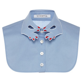 VIVETTA - Blue Hands Collar Dickie With Red Nails