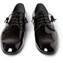 Gucci - Patent Leather Derby Shoes