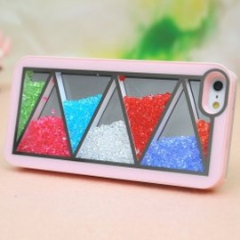 iphone case - Nice Pink Triangle Hard Cover Case For Iphone 4/4s/5