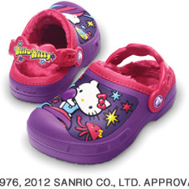 crocs - creative crocs Hello Kitty space adventure lined clog