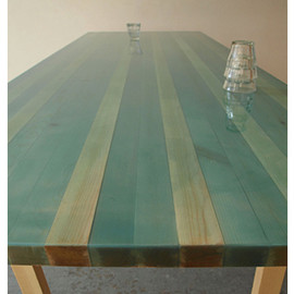 "Flat Table""raftered"""