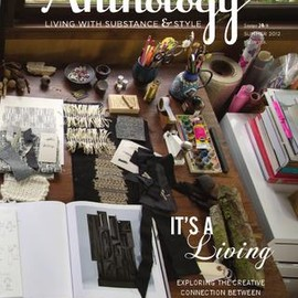 Anthology Magazine - Issue No. 8   IT'S A Living