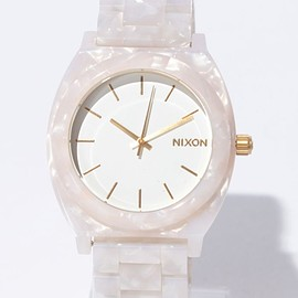 nixon - TIME TELLER ACETATE WHITE GRANITE/WHITE