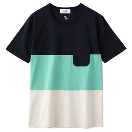 Aloye - Tricolore #5 / Short-sleeve Pocket T-Shirt