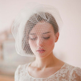 Double layer full birdcage veil - Style # 213 - Ready to Ship