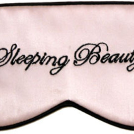 "Mary Green - ""Sleeping Beauty"" Silk Satin Sleep Mask"