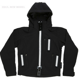 Hypertrophy - 2015 MODEL Hypertrophy Fatzipper mountain parka  BLACK