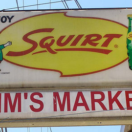squirt - light up sign