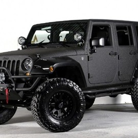 Starwood Motors - Jeep Wrangler Unlimited with Kevlar Paint
