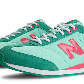 New Balance - New Balance 550, Green with Mint & Coral