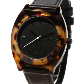 NIXON - THE TIME TELLER ACETATE LEATHER