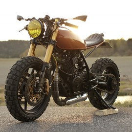 TUX customs - Cafe Cross / Honda XL 600R