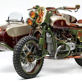 "Le Mani Moto - ""From Russia With Love"" URAL"