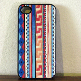 Iphone Case - Aztec Design for Iphone 4 and Iphone 4S