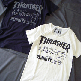 THRASHER, SNOOPY, Advantage cycle - THRASHER×SNOOPY×Advantage cycle T-SHIRT