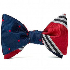 Brooks Brothers × Social Primer - reversible bow tie