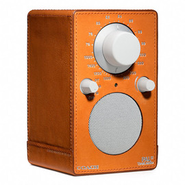 Coach, Tivoli Audio - BLEECKER LEATHER WRAPPED TIVOLI RADIO 1418 - Bon Fire