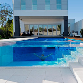 Transparent Pool