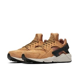NIKE - Air Huarache Premium - Walnut/Black/Sail?