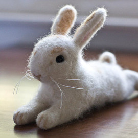 Felting Friends - sweet bunn~