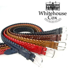 Whitehouse Cox - LEATHER MESH BELT P1127