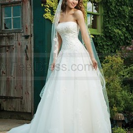 Sincerity Bridal - Sincerity Bridal Wedding Dresses Style 3637