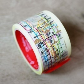 WonderlandRoom - Subway Pattern Tape - NY Manhattan