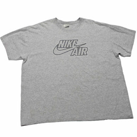Nike - Vintage 90s Gray Nike Air Shirt Mens Size XXL
