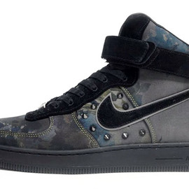 """Nike - NIKE AIR FORCE I DOWNTOWN QS """"LIBERTY"""" NEWSPRINT/BLACK 「LIMITED EDITION for NONFUTURE」"""