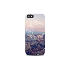 bycsera - MOON iPhone 5 case, Protective iPhone 4 Case, Tribal iPhone 4 case