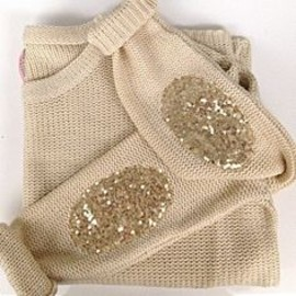 Sparkly elbow patches