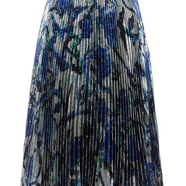 Christopher Kane - lamé pleated skirt