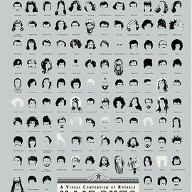 pop chart lab - A Visual Compendium of Notable Haircuts in Hollywood