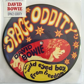 """David Bowie - Space Oddity ( 40th Anniversary –  Vinyl, 7"""", 45 RPM, Single, Limited Edition, Picture Disc)"""