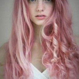 Pink Punk Hair Wave